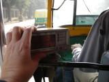 New Delhi autorickshaw meter