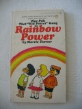 Rainbow Power (1973) (inscribed with original drawing)