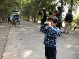 Rahil at Keoladeo Bird Sanctuary