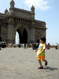 Perusing the Gateway of India