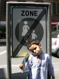No Women or Children Zone!