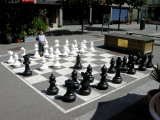 Checkmated in two moves.  The humiliation!
