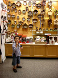 A small section of a large cuckoo clock collection