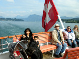 On the boat from Mt. Pilatus to Lucerne