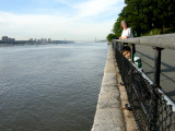 A walk along the Hudson