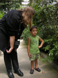 At the Butterfly Conservancy with Suzanne Auntie