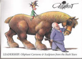 Leadership:  Oliphant Cartoons and Scupture from the Bush Years (2008) (inscribed)