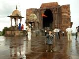 Fourth stop:  A Shiv Mandir near Bhimbetka.