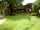 A visit to historic Hauz Khas village...