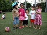 Rahil, Sara, Sohaani, Sophie, Aika.