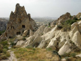 A small portion of the Goreme Open Air Museum.