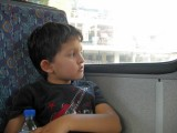 First city bus ride ... ever!  From Sultanahmet to Taksim Square.