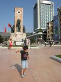 Taksim Square, with Marmara Hotel in background.