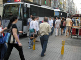 Very bored with Istiklal Caddesi.