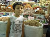 Inside the Spice Bazaar.