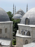 View from a Haghia Sophia window.