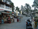Tea at Char Ducon (Four Shops) in Landour, just like Mom and Dad did in 2002.
