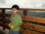 View from hotel balcony near Chamba.
