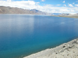 First view of Pangong Tso (28 July 2010