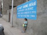 Do Not Urine Here!  (Leh)