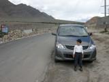 On the road to Pangong Tso, Ladakh