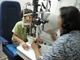First eye exam.
