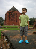 First trip to Lal Gumbad and the scratchy grass.