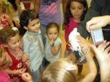 The magician produced a dove!