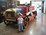 A fire engine from 1914.