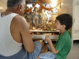 Puja with Nanu