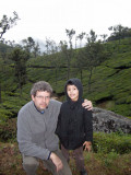 Rahil and Dad in Coonoor.  Photo by Mom