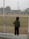 Watching the big kids play softball