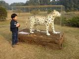 Nehru Park sculpture