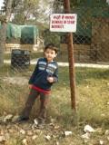 Beware of Stray Monkey (Delhi 2011)