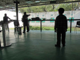 Shooting range at Siri Fort.