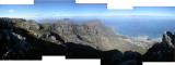 View from Table Mountain looking south (2 Sept 2012)