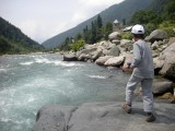 Spot where Rahil caught his first trout (outside of Srinagar)