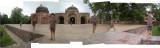Rahil at Humayan's Tombs Masjid (28 July 2012)