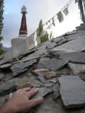 Mani stones, Ladakh, India (1997)