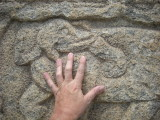 14 c. stone carving