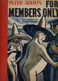 For Members Only (1935) (signed with original drawing)