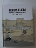 Jerusalem Chronicles from the Holy City (2012) (inscribed with original drawing)