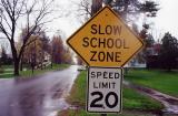 Slow School Zone (Deerfield, MA)