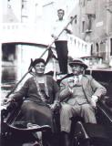 Harrison Cady and his wife in Venice