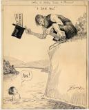 Original drawing (published in the New York Tribune, August 29, 1914) (13.5 x 11)