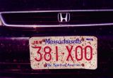 My License Plate at the Conclusion of a Cross-Country Trip (2002)