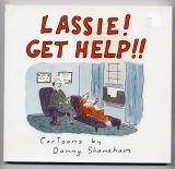 Lassie! Get Help!! (1990) (inscribed with original drawing)