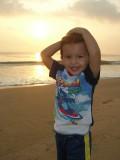 Sunrise pose