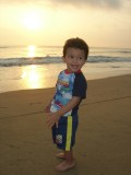 Sunrise at Covelong Beach