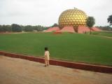 Auroville's Matramandir
